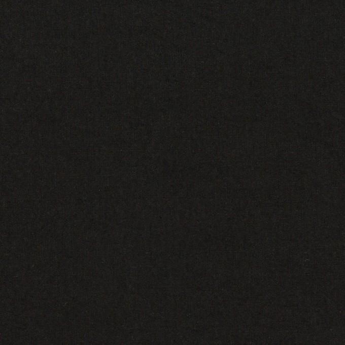 コットン×無地(ブラック)×高密ローン イメージ1