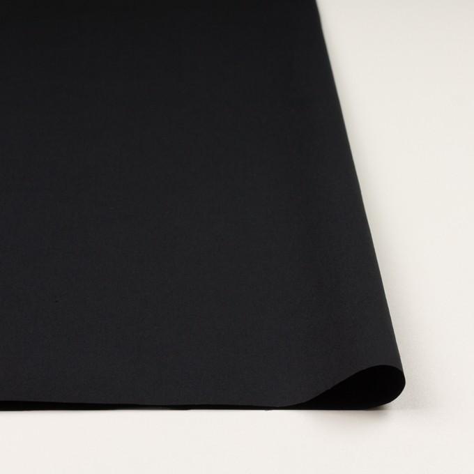コットン×無地(ブラック)×高密ポプリン イメージ3