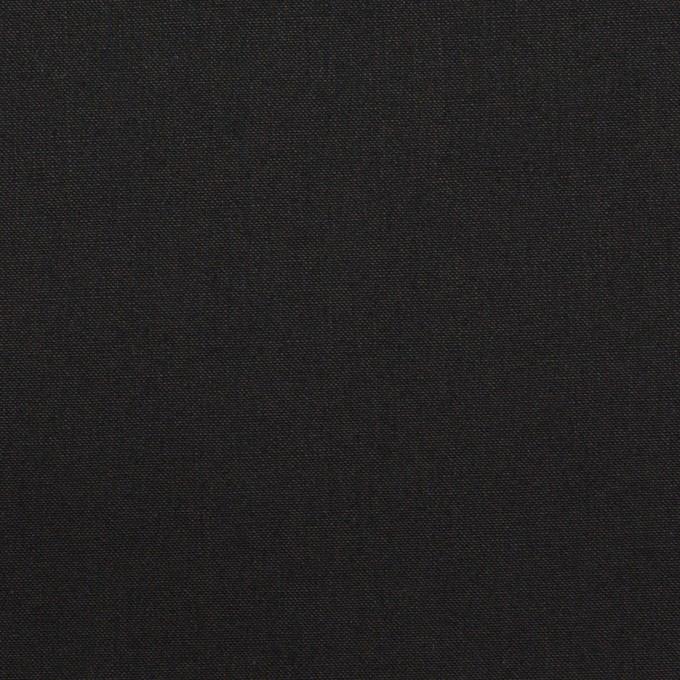 コットン×無地(ブラック)×高密ポプリン イメージ1