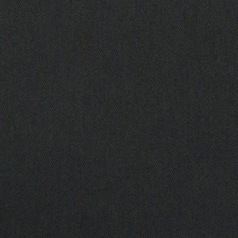 コットン&リヨセル×無地(チャコールブラック)×サテン サムネイル1