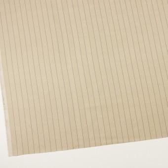 キュプラ&テンセル混×ストライプ(グレイッシュカーキ)×サージ サムネイル2