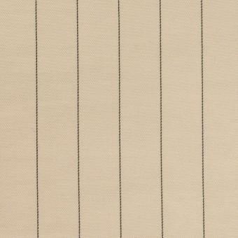 キュプラ&テンセル混×ストライプ(グレイッシュカーキ)×サージ サムネイル1
