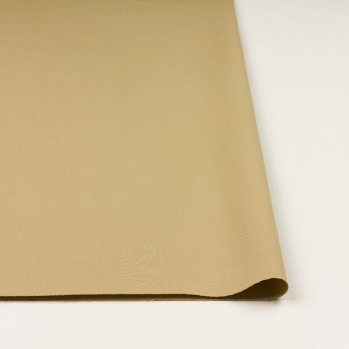 コットン&ビスコース混×無地(サンドベージュ)×サージストレッチ_全2色_イタリア製 イメージ3