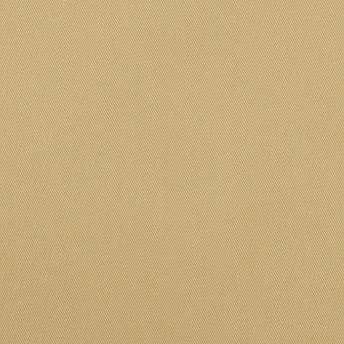 コットン&ビスコース混×無地(サンドベージュ)×サージストレッチ_全2色_イタリア製 イメージ1