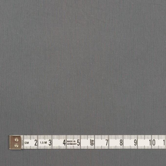 コットン&ビスコース混×無地(スチール)×サージストレッチ_全2色_イタリア製 イメージ4
