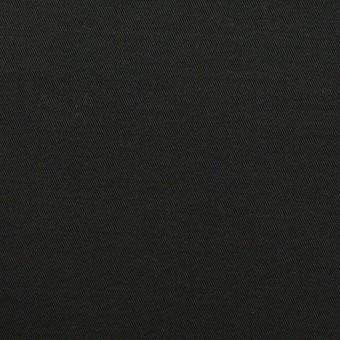 コットン&ポリウレタン×無地(ブラック)×チノクロス・ストレッチ_全2色