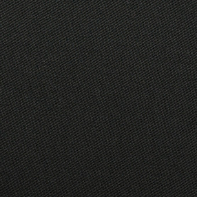 コットン&ポリウレタン×無地(ブラック)×チノクロス・ストレッチ_全2色 イメージ1