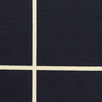 コットン×チェック(ネイビー&キナリ)×チノクロス サムネイル1