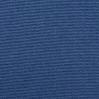 コットン×無地(マリンブルー)×チノクロス