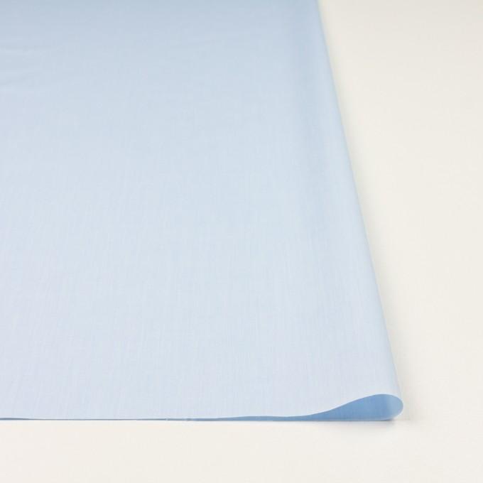 コットン×無地(ペールブルー)×シャンブレー・ローン_全2色 イメージ3