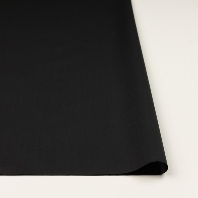 コットン×無地(ブラック)×ローン_全5色 イメージ3