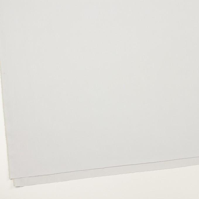 コットン&ポリアミド×無地(シルバーグレー)×サージ_全2色_イタリア製 イメージ2