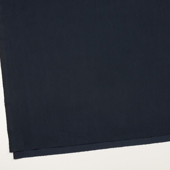 コットン&ポリアミド×無地(ダークネイビー)×サージ_全2色_イタリア製 イメージ2