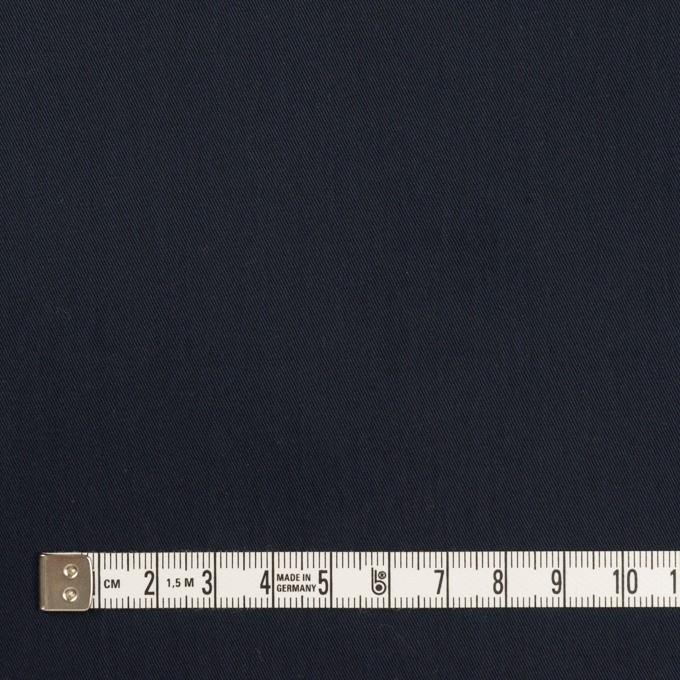 コットン&ポリアミド×無地(ダークネイビー)×サージ_全2色_イタリア製 イメージ4