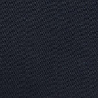 コットン&ポリアミド×無地(ダークネイビー)×サージ_全2色_イタリア製