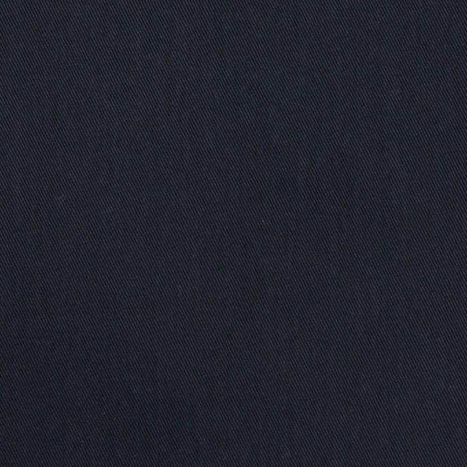 コットン&ポリアミド×無地(ダークネイビー)×サージ_全2色_イタリア製 イメージ1