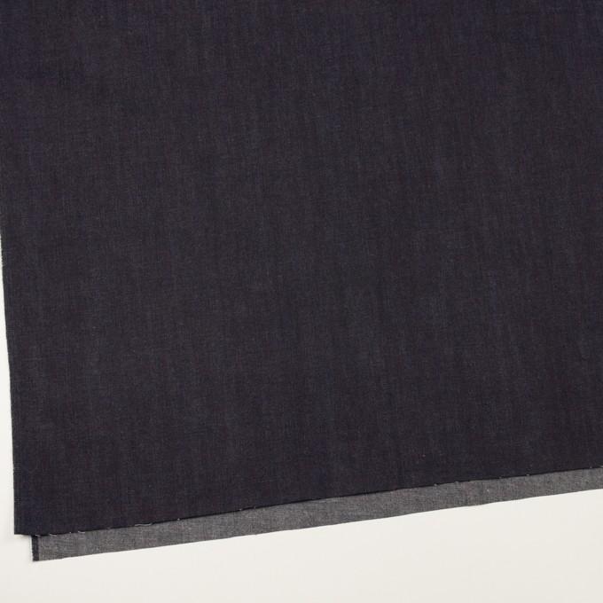 コットン×無地(インディゴ)×デニム(6.5oz) イメージ2