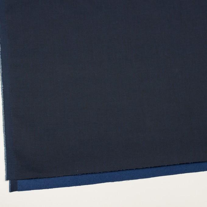 コットン×無地(ネイビー)×二重織 イメージ2