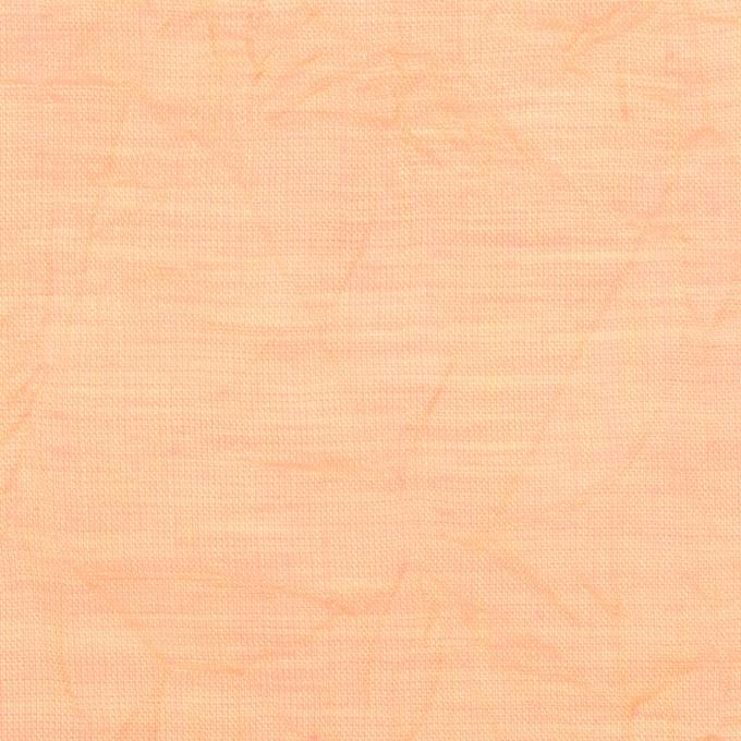 コットン×無地(アプリコット)×ボイルワッシャー_全4色 イメージ1