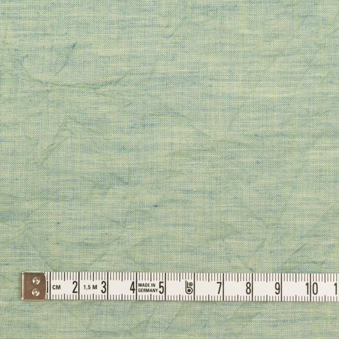 コットン×無地(シーグリーン)×ボイルワッシャー_全4色 イメージ4