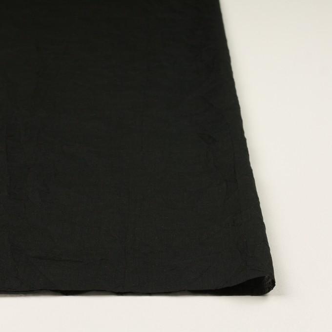 コットン×無地(ブラック)×ボイルワッシャー_全4色 イメージ3