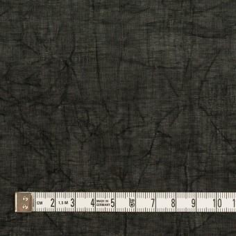 コットン×無地(ブラック)×ボイルワッシャー_全4色 サムネイル4