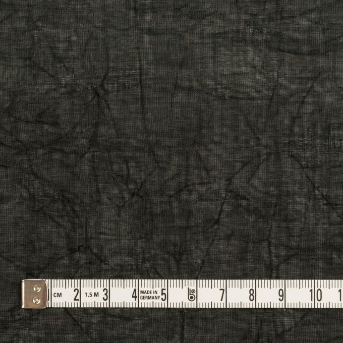 コットン×無地(ブラック)×ボイルワッシャー_全4色 イメージ4