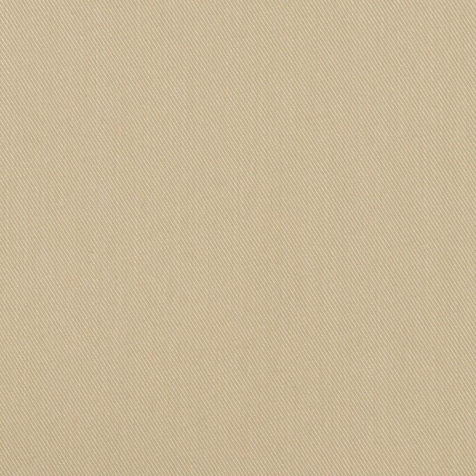 コットン&ナイロン×無地(グレイッシュベージュ)×サージ イメージ1