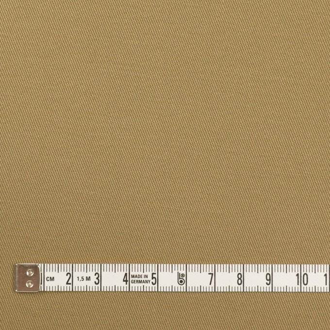 コットン×無地(ダークカーキ)×チノクロス イメージ4