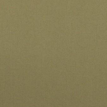 コットン×無地(アッシュカーキグリーン)×ギャバジン サムネイル1