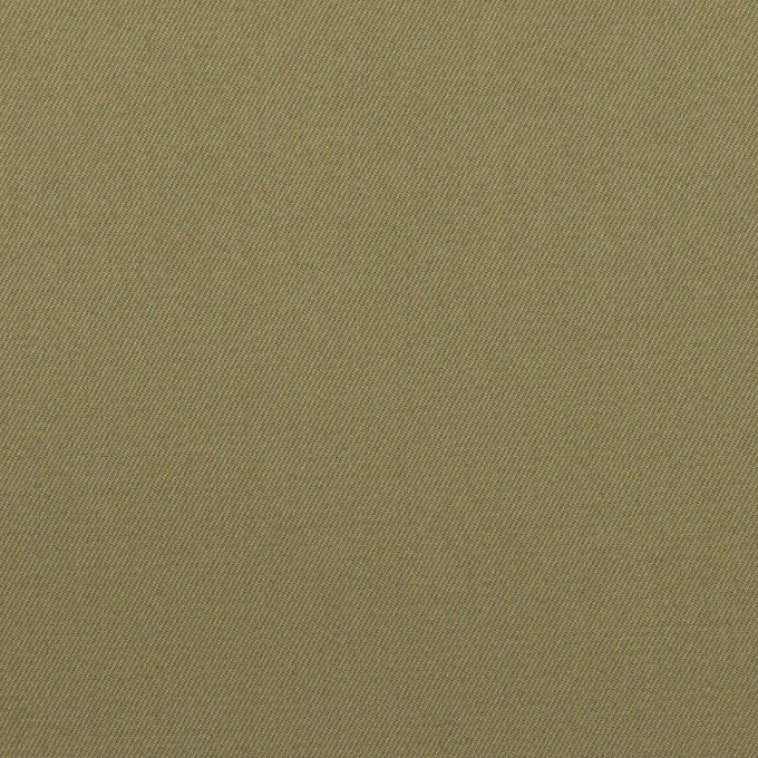 コットン×無地(アッシュカーキグリーン)×ギャバジン イメージ1