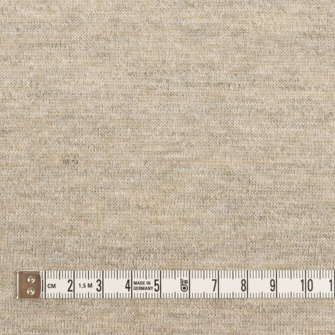 コットン&リネン×無地(オートミール)×天竺ニット_全2色 イメージ4