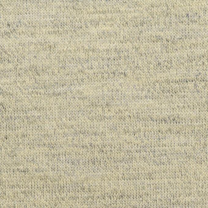 コットン&リネン×無地(グリーンティー)×天竺ニット_全2色 イメージ1
