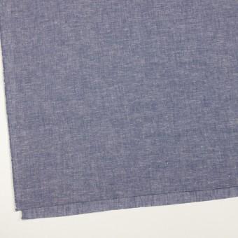 コットン&リネン×無地(ブルー)×薄ダンガリー サムネイル2