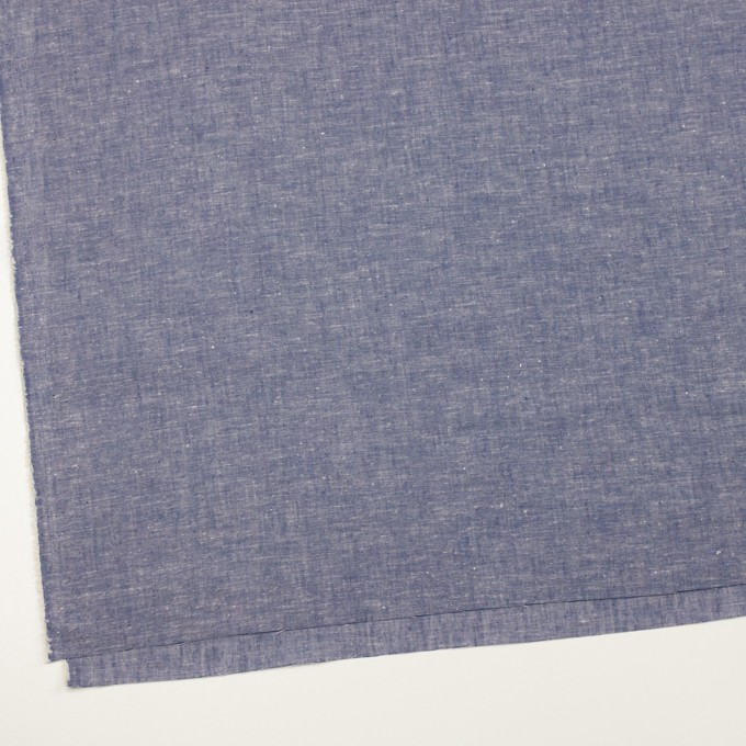 コットン&リネン×無地(ブルー)×薄ダンガリー イメージ2