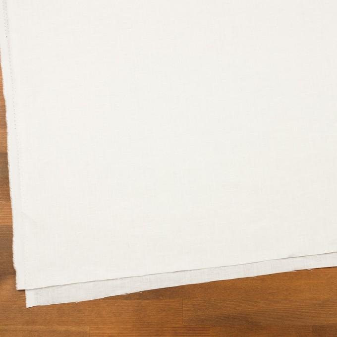 リネン×無地(オフホワイト)×薄キャンバス イメージ2