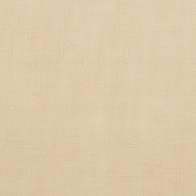 リネン×無地(ミルクティ)×薄キャンバス イメージ1