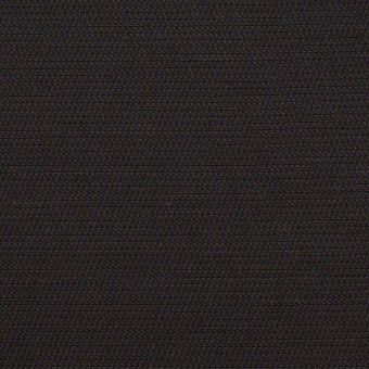 コットン&キュプラ×無地(ブラック)×かわり織_イタリア製