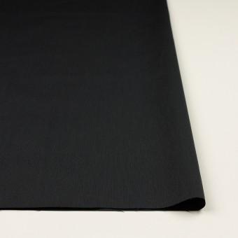 コットン&ポリエステル混×無地(チャコール)×ポプリンストレッチ_イタリア製 サムネイル3