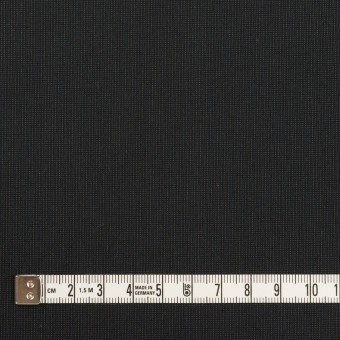 コットン&ポリエステル混×無地(チャコール)×ポプリンストレッチ_イタリア製 サムネイル4