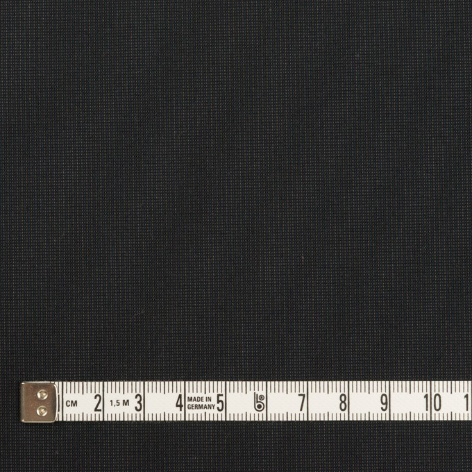 コットン&ポリエステル混×無地(チャコール)×ポプリンストレッチ_イタリア製 イメージ4