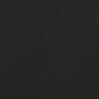 コットン&ポリエステル混×無地(チャコール)×ポプリンストレッチ_イタリア製