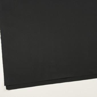 コットン&ポリウレタン×無地(ブラック)×ギャバジン・ストレッチ サムネイル2