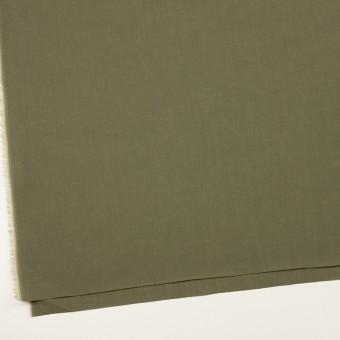 コットン&テンセル×無地(アッシュカーキグリーン)×シャンブレー・ローン_全4色 サムネイル2