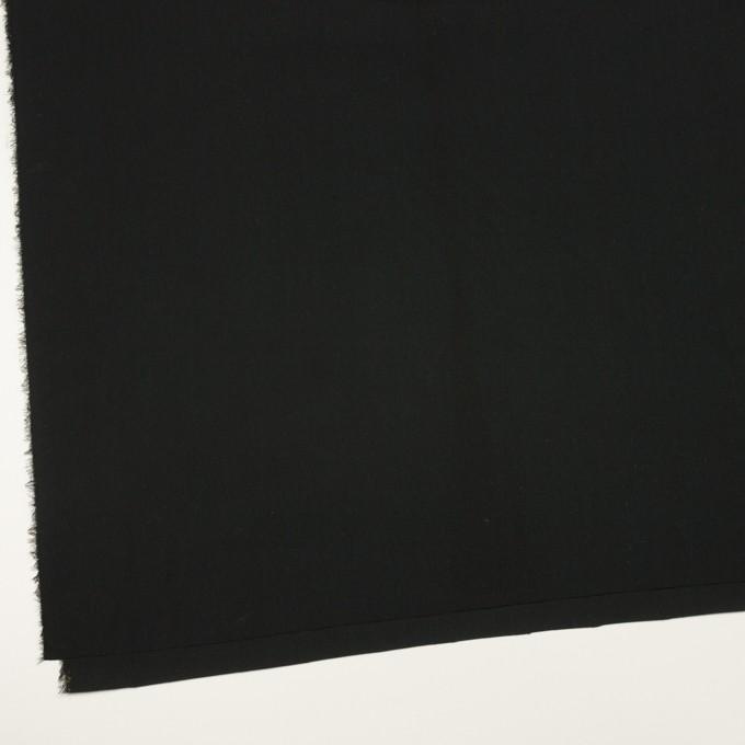コットン&テンセル×無地(ブラック)×ローン イメージ2