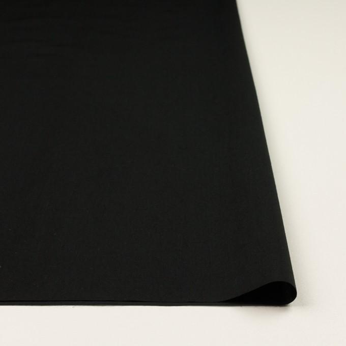 コットン&テンセル×無地(ブラック)×ローン イメージ3