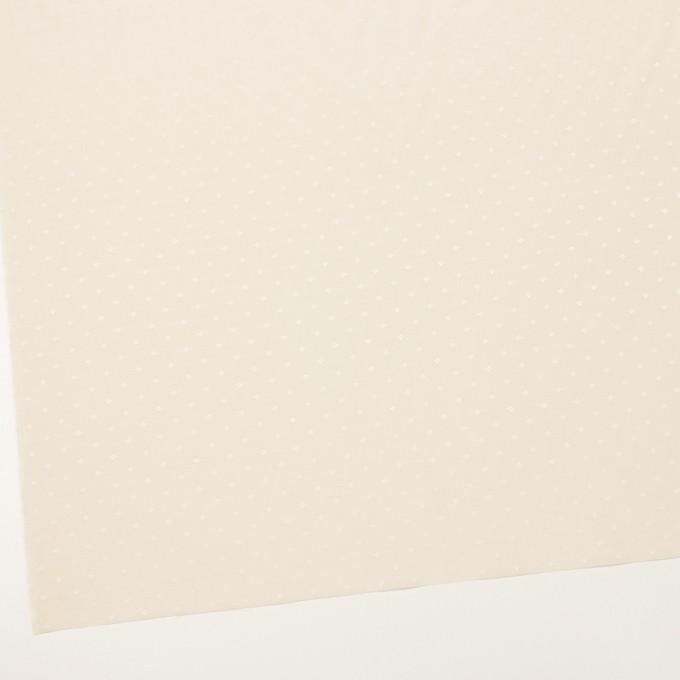 コットン&シルク×小紋(キナリ)×ローンジャガード_全2色 イメージ2