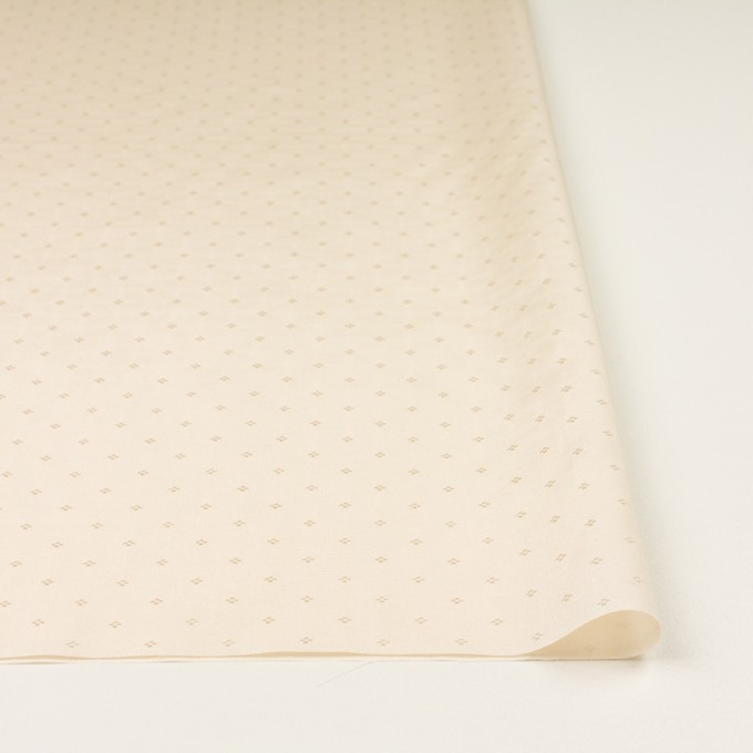 コットン&シルク×小紋(キナリ)×ローンジャガード_全2色 イメージ3