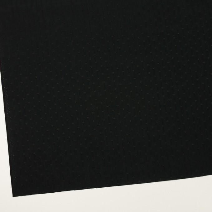 コットン&シルク×小紋(ブラック)×ローンジャガード_全2色 イメージ2
