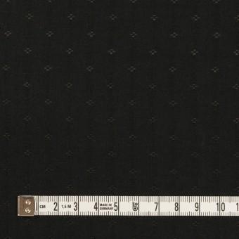 コットン&シルク×小紋(ブラック)×ローンジャガード_全2色 サムネイル4
